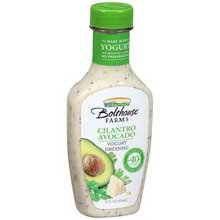 Bolthouse Farms Cilantro Avocado Yogurt Dressing, 14 Fluid O