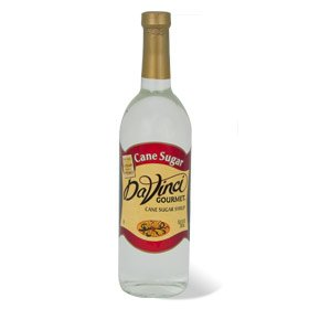 DaVinci Gourmet Cane Sugar Syrup, 750 ml Bottle