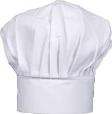 CHEFSKIN Baby Toddler White Chef Hat Adjustable Fits Babies 12-36 Mos]()