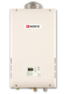 Noritz NR981-DVCNG 199,900 BTU Residential Tankless Water Heater with Concentric Vent, Natural Gas