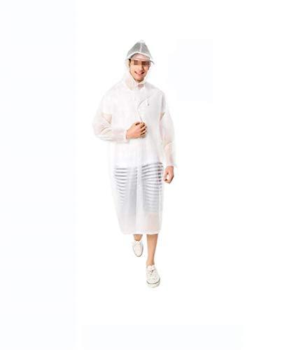 Adulte Voyage Les Casual Plein En Blanc Pluie Air La À Poncho Dame Femmes Et Veste Mode De Imperméable Respirant Bord vEI11q
