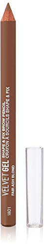 Marcelle Velvet Gel Shape & Fix Brow Pencil, Fair Ash Blond, Hypoallergenic and Fragrance-Free, 0.03 oz ()