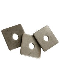 7/8'' Square Plate Washer Plain Finish (Quantity: 55 pcs) - OD: 3'' inch, Thickness: 0.315 inch