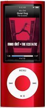 Apple iPod nano 16 GB Red (5th Generation)