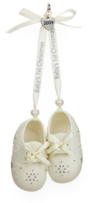 """B"" Is for Babies (and Booties!) 2009 Hallmark Ornament"