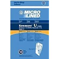 36 Kenmore Type U Allergen Filtration Vacuum Bags for Kenmore Vacuums, 54322