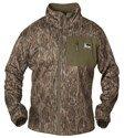 Banded Full Zip Mid Layer Fleece Jacket, Color: Bottomland, Size: Xl (B1010008-B