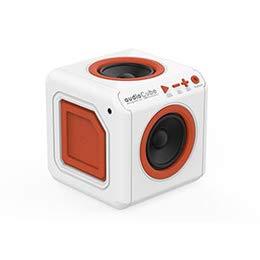 【まとめ 2セット】 allocacoc オーディオキューブ ホワイト audioCube Portable US WHITE 3901WT/USACPT B07KNTKJFD
