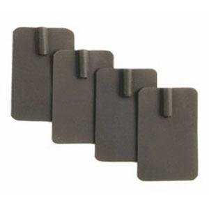 Kendall Healthcare 3250 Black Carbon Electrode with Velcro™ – 200 Ct.