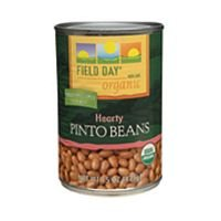 Field Day Beans, Og, Pinto, 15-Ounce (Pack of 12) ( Value Bulk Multi-pack) by FIELD DAY