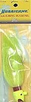 Hurricane Laughing Bucktail Jig, 1-1/2-Ounce, Chartreuse