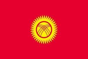 人気カラーの 世界の国旗 高級テトロン製] キルギスタン 国旗 [120×180cm [120×180cm 高級テトロン製] B0090ZXYM2 B0090ZXYM2, 【おまけ付】:228d2535 --- vietnox.com