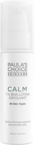 Paula's Choice Calm 1% BHA Lotion Peeling - Exfoliator gegen Unreine Haut, Pickel, Mitesser & Rötungen - Poren Verkleinern Exfoliant mit Salicylsäure - Alle Hauttypen - 100 ml