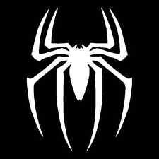 Ps2 Costumes Spiderman Ultimate (Spiderman Spider Logo Vinyl Decal Sticker|Cars Trucks Vans Walls Laptops|WHITE|5.5)