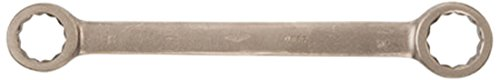 6 mm x 7 mm Corrosion Resistant Double Box Straight Type Non-Sparking Ampco Safety Tools 0800 Wrench Non-Magnetic