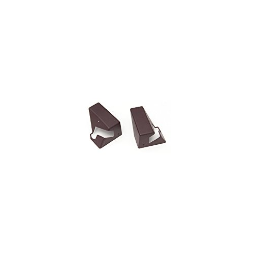 Eckler's Premier Quality Products 25-190874 Corvette Roof Storage Mount Covers, Ruby Red,
