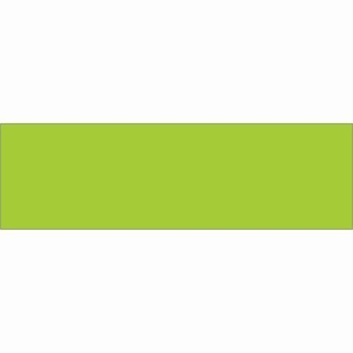 10' x 3' Fluorescent Green Rectangle Label (DL634J) Category: Color-Coding Labels by Box Partner