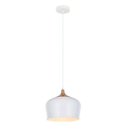 Moderne Lampe suspension 1 x 60 W E27 Italux mdm-2681 1 m w Britta