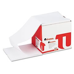 Universal 15802 Computer Paper, 20lb, 9-1/2 x 11, Letter Trim Perforations, White, 2400 Sheets by Universal