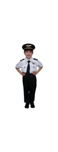 Pilot Boy Costume - Child Costume - (Ready For Take Off Pilot Costumes)