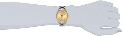 Invicta Women's 14911 Ceramics Gold Dial Gunmetal Tone Ceramic Watch