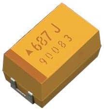 Tantalum Capacitors Pack of 50 Solid SMD 35V 4.7uF 20/% Tol 700 ESR