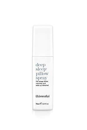 ThisWorks Deep Sleep Pillow Spray, 75 milliliters - Natural Sleep Aid with Essential Oils of Lavender, Vetivert and Camomile