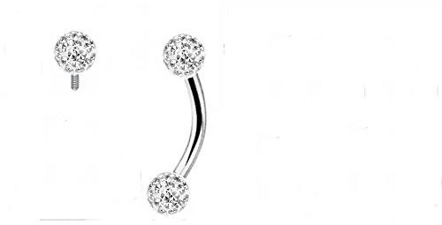 vertical hood piercing jewelry - 2
