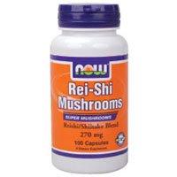 Now Foods Rei-Shi Mushrooms 270 mg - 100 Caps ( Multi-Pack)