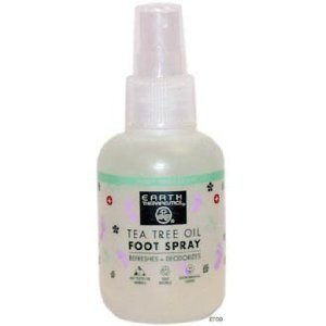 Earth Therapeutics Tea Tree Oil Foot Spray 4 Oz  by Earth Th