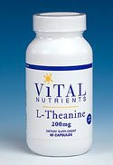 L-Théanine 200 mg 60 Vegicaps