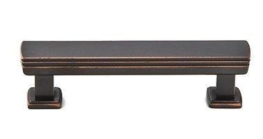 Art Deco 3 1/2'' Center Bar Pull Finish: Oil Rubbed Bronze
