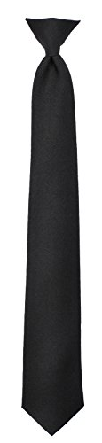 Rothco Police Issue Clip-On Neckties, Black, 18 -