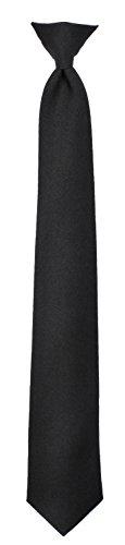 Rothco 18'' Black Clip Tie