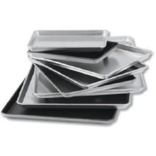 Lincoln Wear - Ever Natural Sheet Pan Full Size 17 3/4 inch x 25 3/4 inch x 1 inch Gauge 16-12 per case.