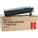 Ricoh 888029 Type 1160W Black Toner for AF240W, AF470W, Aficio 480W, MP W2400, MP W3600, MP W3601, MP W6700SP, SP W2470