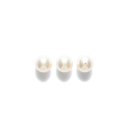 Swarovski 5810 Crystal Round Pearl Beads, 8mm, Cream Rose, 50-Pack