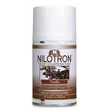 Nilodor Nilotron 7 oz. Metered Aerosol Dispenser Refill Cans - Vanilla (12 Cans/Case) (Aerosol Refill Nilotron)