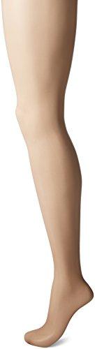L'eggs Women's Silken Control Top Toe Panty Hose, Misty Taupe, B