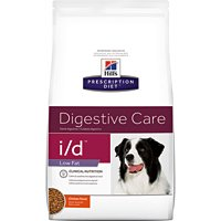 Hill's Prescription Diet i/d Digestive Care Low Fat Chicken Flavor Dry Dog Food 27.5 lb