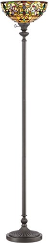 Quoizel TF878UVB, Kami, 1-Light Floor Lamp, Bronze