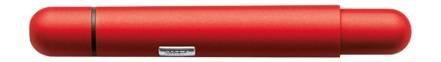 Red Pico Matte Lacquer Pocket Ballpoint Pen by (Pico Pen Box)
