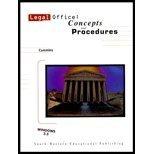 Legal Office Concepts and Procedures, Cummins, Robert R., 0538715316