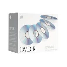 Apple DVD-R Media 4.7GB Recordable General Purpose Only (5-Pack) (Discontinued by Manufacturer)