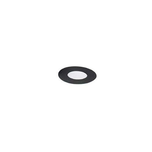 Chimney 21105 6 Inch Heat-fab 22-ga Welded Black Stovepipe Trim Collar O.d. Is 11 3/4 Inch For 6 Inch Collar and 14 Inch For 7 Inch and 8 Inch Collar