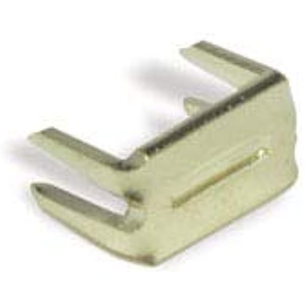 Tandy Leather Zipper Top Stop Brass 10//pk