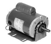 Marathon B314 48YZ Frame Open Drip Proof 48C17D2043 Belt Drive Motor, 1/3 hp, 1725 rpm, 115/208-230 VAC, 1 Split Phase, 1 Speed, Ball Bearing, Resilient Ring Mount