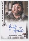 Brent Briscoe as Swill Man (Trading Card) 2007 Upper Deck Entertainment/Rittenhouse Spider-Man 3 - Autographs #BRGM