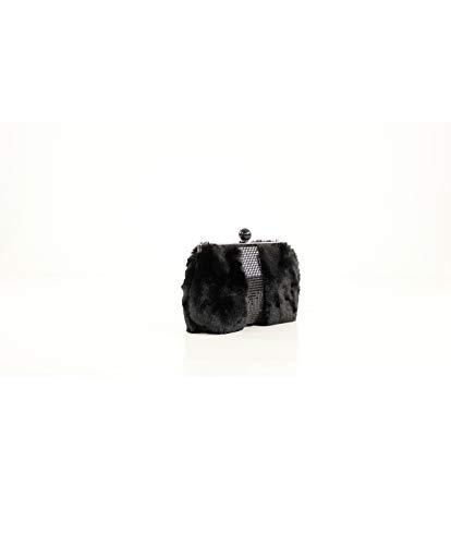 L x Mano x Eferri Alone 5x19x27 para H cm Mujer W Negro Glamour de Cartera nBU6Aq