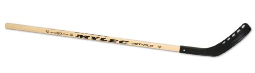 Mylec Eclipse Jet Flo Stick (Wood/Black, Right, 43 -Inch) ()